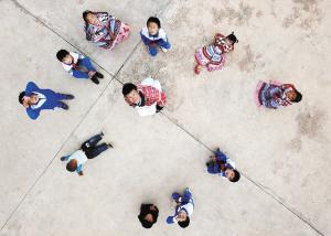 仅有1个老师、10个学生的阿依羊小学。