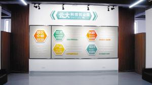"""云大科技创业园为学生提供了""""双创""""平台。云南大学供图"""