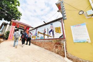 团街镇小鹧鸪村农旅综合开发势头良好。 记者王俊星摄