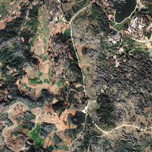 底图项目-正射影像图(石林)。北斗高分公司供图