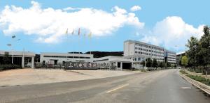 昆明三川电缆在阳宗海七甸工业园投资5亿元新建的研发生产基地。 记者吴洁摄
