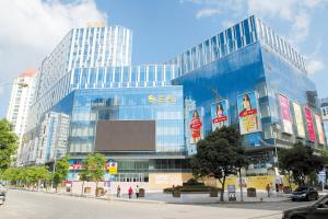 金鹰购物中心。  五华区委宣传部供图