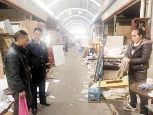 黄土坡旧货市场顺利关闭
