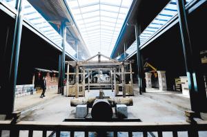 """季官社区建立村史博物馆就是为了""""完整地收藏生活,不忘昨日的来处""""。"""