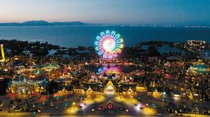 主题乐园已成为旅游消费升级的新亮点。 七彩云南欢乐世界供图