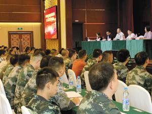 全市符合政府安排工作条件的400余名退役士兵接受适应性转岗培训。
