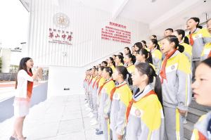 目前,华山中学初一年级有4个班150人。记者王俊星摄