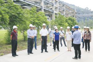 人大代表检查全县安全生产工作。